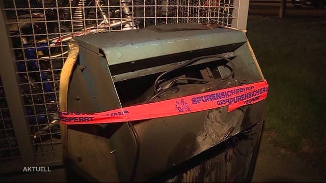 Wäschetrockner verursacht Brand in Aarburg