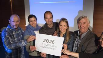 Sion will sich um die Austragung der Olympischen Spiele 2026 bewerben