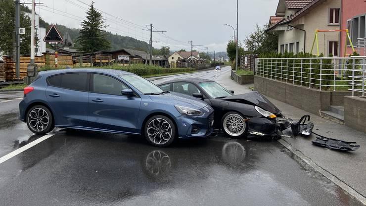 Verletzt wurde beim Unfall niemand.