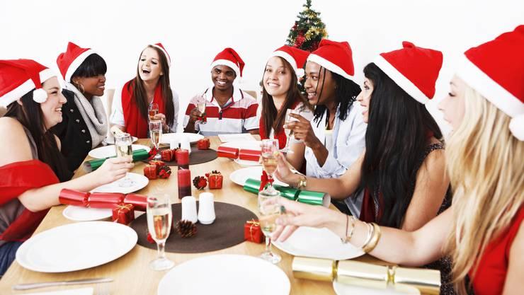 Könnte man sich am Weihnachtsessen doch nur beherrschen und nüchtern bleiben.