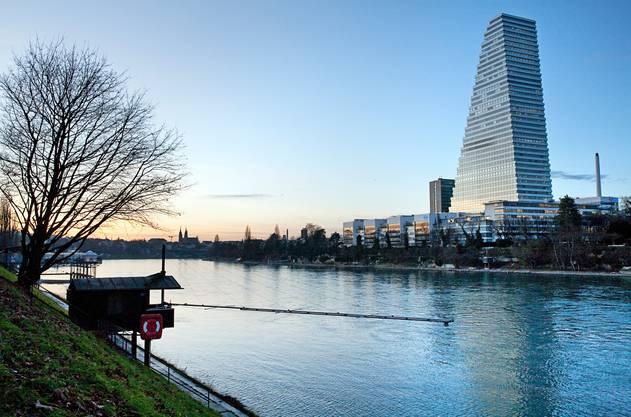 Roche-Turm, Basel Mit 178 Metern das höchste Gebäude der Schweiz. Architekt: Herzog und de Meuron Bauzeit: 2012–2015 Bild: Keystone