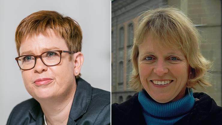 Ruth Müri (links) und Christiane Guyer.