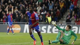 FC Basel gegen Steaua Bukarest