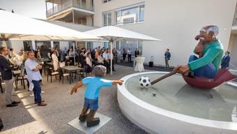 Eröffnungsfeier des Seniorenzentrums Oase in Obergösgen