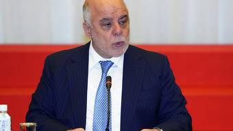 Iraks Ministerpräsident Haidar al-Abadi droht bei der Parlamentswahl im Irak eine Niederlage. (Archivbild)