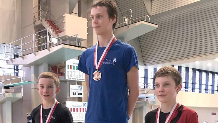 Nationalkadermitglied Steven Rusnac startete am Swiss Diving Open in Zürich und kehrte mit zwei Silbermedaillen zurück.
