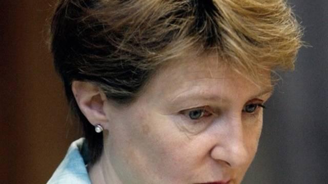 SP-Ständerätin Simonetta Sommaruga sagt Ja. Sie will in den Bundesrat