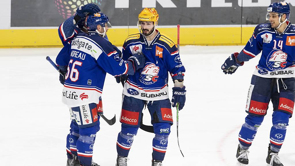 Fribourg taucht im Spitzenkampf - ZSC Lions neuer Leader