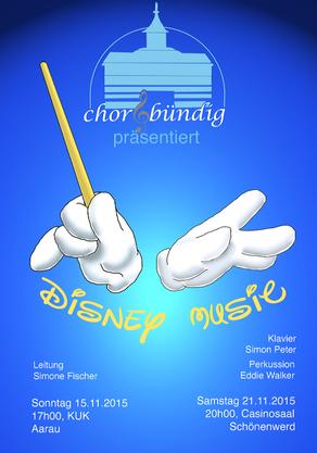 Flyer Disney Music
