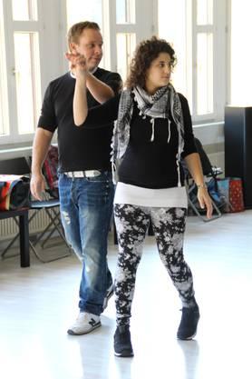 Interessierte Tanzneulinge