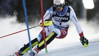Ramon Zenhäusern war zum zweiten Mal Schnellster in einem ersten Lauf