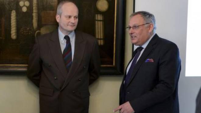 Irritierende Auftritte: Kandidaten Egloff (links) und Rutschmann. Foto: Martin Töngi