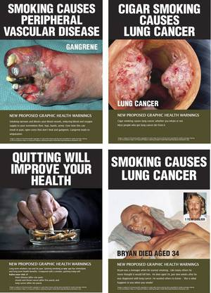 So sehen Zigarettenpäckli in Australien aus