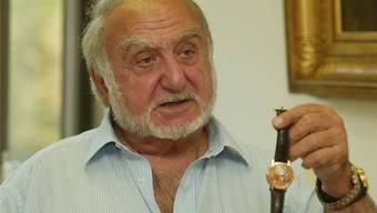 SBG-Banker Peter Gross hat Nicolas G. Hayek (Bild, 1928–2010) ein Investment bei der SMH schmackhaft gemacht.