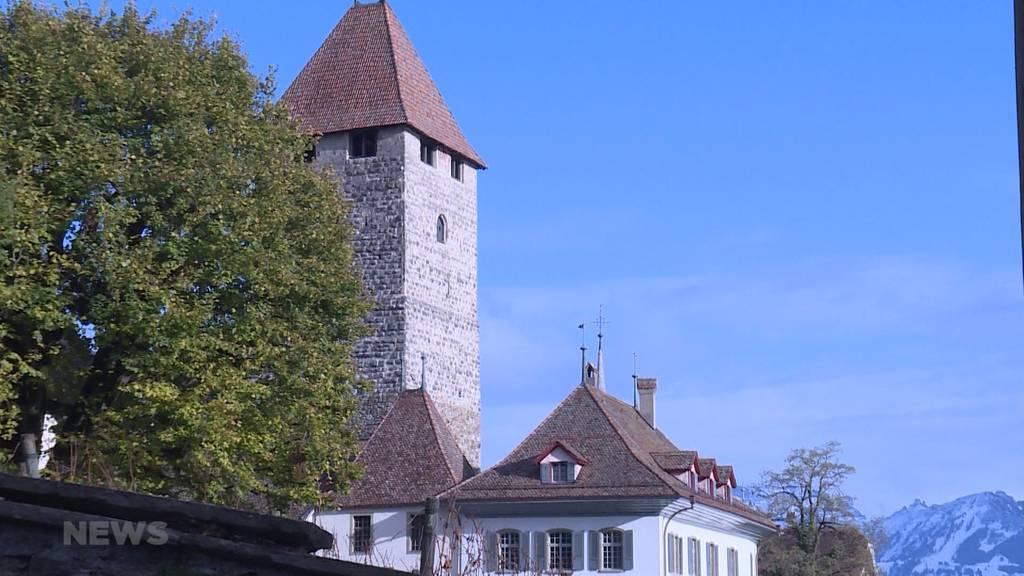 Widerstand gegen 5G-Antenne im Schloss Spiez