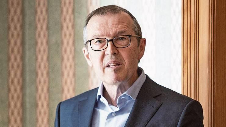 Markus Hongler an der Medienkonferenz in Luzern.