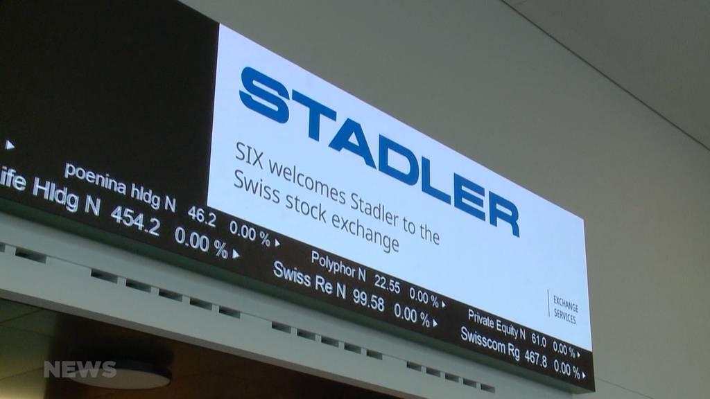 Ansturm auf Stadler-Aktien