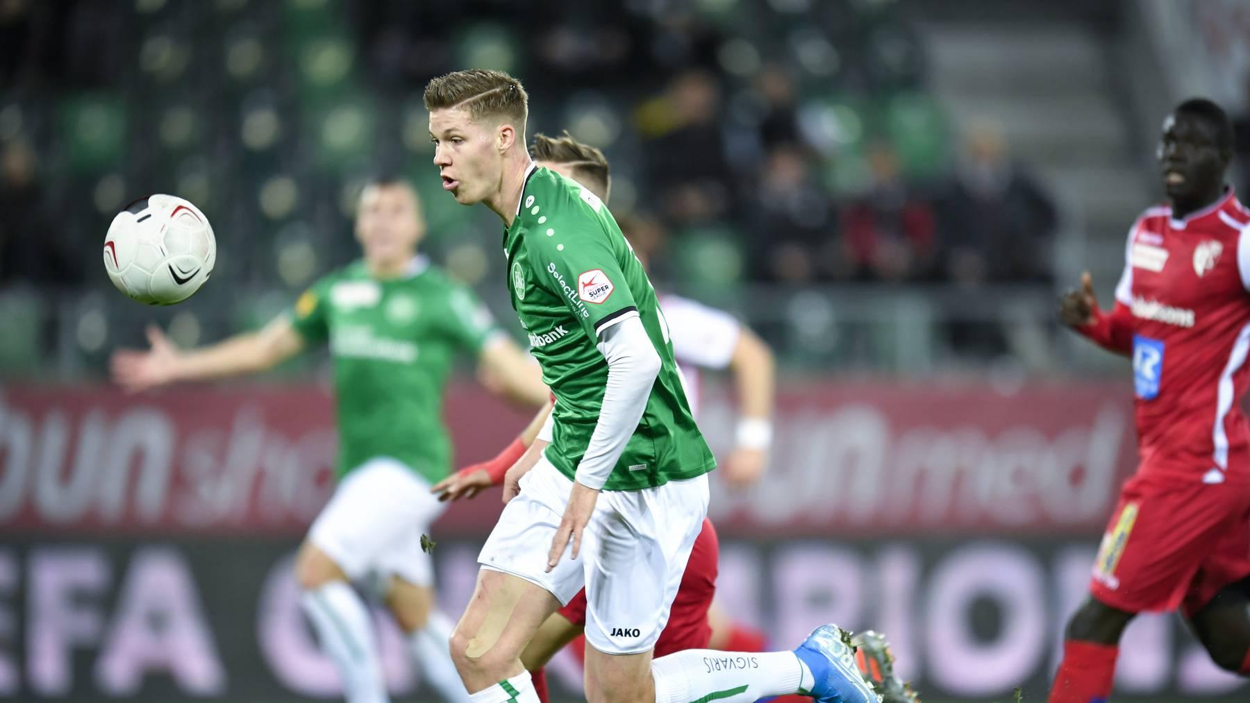 Verlässt Cedric Itten den FC St.Gallen in Richtung Frankreich?