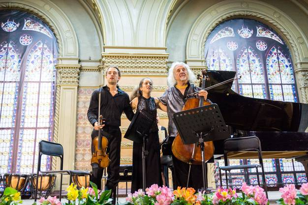 Abschlusskonzert mit dem Maisky Trio in der Philharmonie Odessa.
