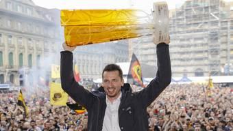 Der SC Bern ist zum 14. Mal Meister – das muss gefeiert werden.