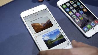 Die iPhone-Verkäufe bescheren Apple einen Gewinnsprung im Quartal (Symbolbild)
