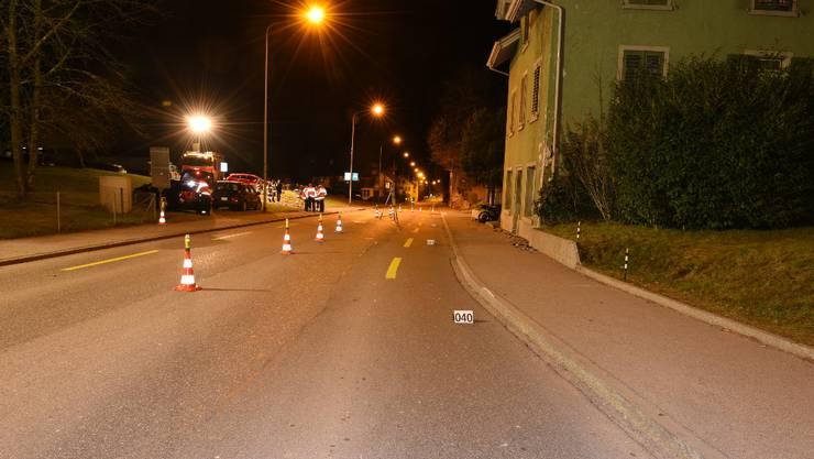 Polizei sucht nach Velounfall Zeugen - Freiamt - Aargau