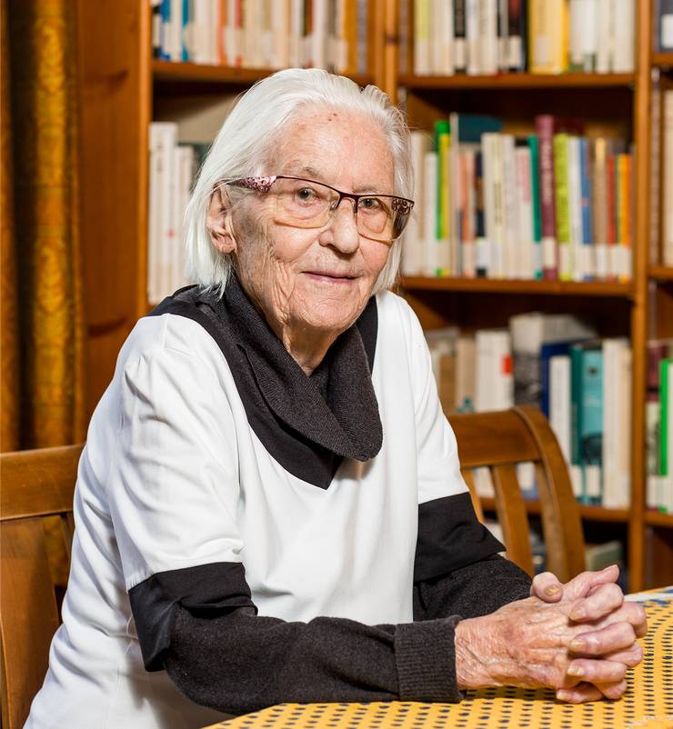Marthe Gosteli: «Ohne all die gescheiten Frauen, die sich in der Vergangenheit exponiert haben, wären die Frauen heute nirgends»