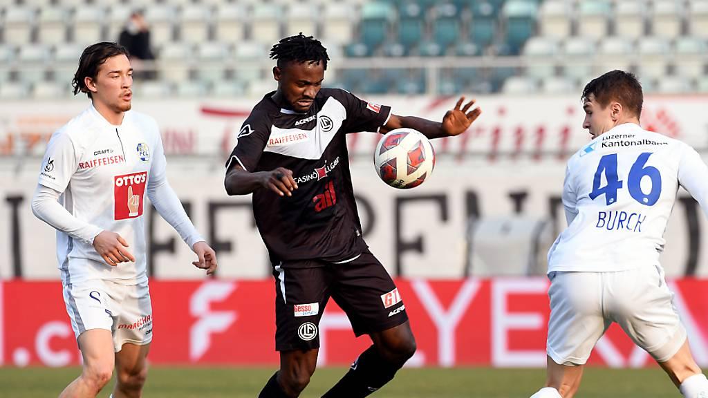 Varol Tasar verschafft dem FC Luzern Luft