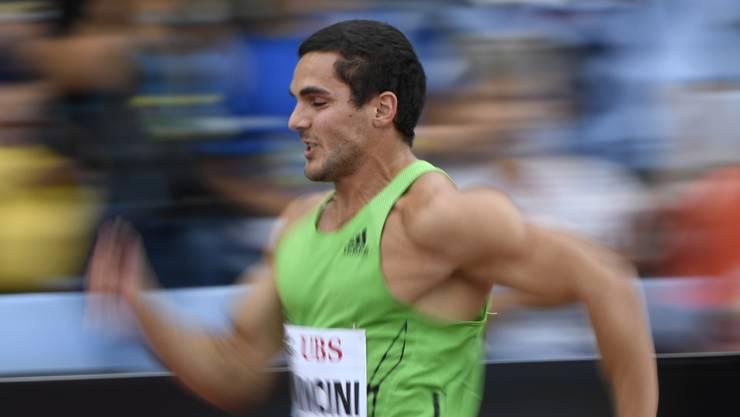 Leichtathlet Pascal Mancini riskiert nicht nur die Chance, Spitzensport zu machen, sondern auch eine Karriere danach. (Archiv)