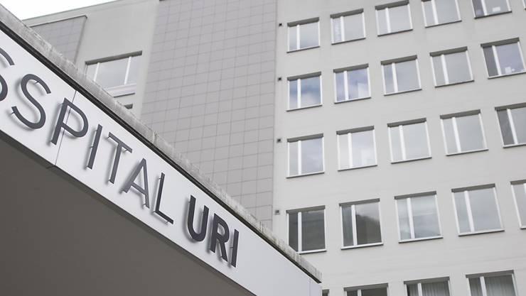 Grossinvestitionen wie der Spitalneubau belasten das Urner Budget 2020. (Archivbild)