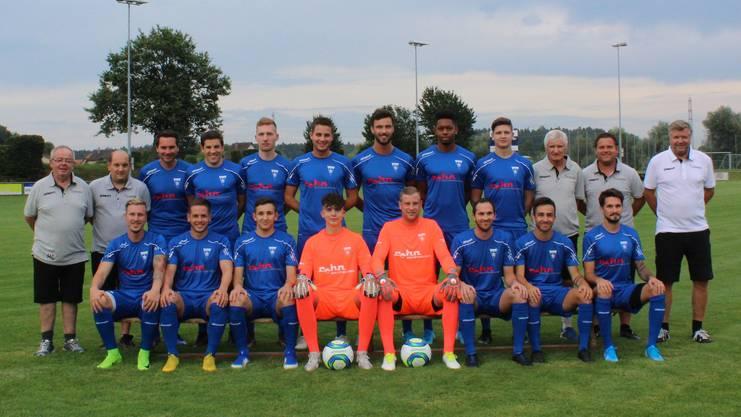 Stolze Mannschaft: Ganze vier Tore erzielt der FC Subingen gegen Fulenbach.