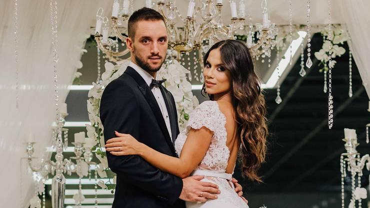 Seit 2016 sind Viktor Troicki und Aleksandra Djordjevic verheiratet. Im Juli werden sie Eltern. Nun haben sich beide mit dem Coronavirus infiziert.