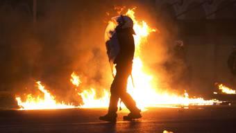 Strassenschlacht wegen Autonomen: Sie mischen sich unter Demonstranten