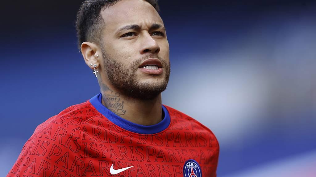 Neymar ist wieder fit, zeigte sich aber noch nicht in Bestform