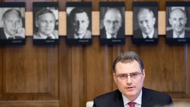 Im Mittelpunkt: Um die Geldpolitik von Nationalbank-Präsident Thomas Jordan wird gestritten