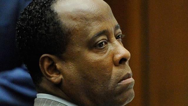 Michael Jacksons früherer Leibarzt Conrad Murray hat vor Gericht das Wort nicht ergriffen (Archiv)