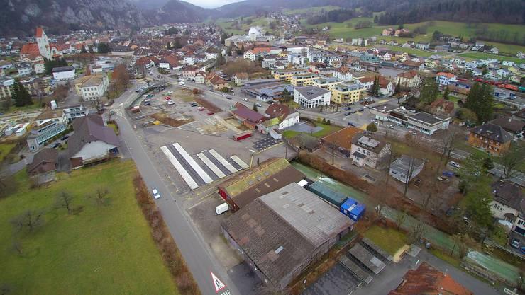 Das Sagi-Areal in Balsthal wie es sich heute präsentiert.