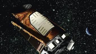 """Grafik des Weltraumteleskops """"Kepler"""" (Archiv)"""