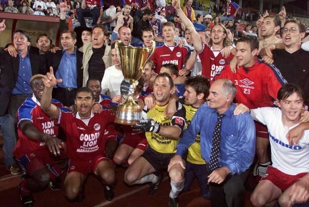 1999 holte sich Servette am letzten Spieltag die Meisterschaft, während Konkurrent sich GC mit dem zweiten Rang abgeben musste.