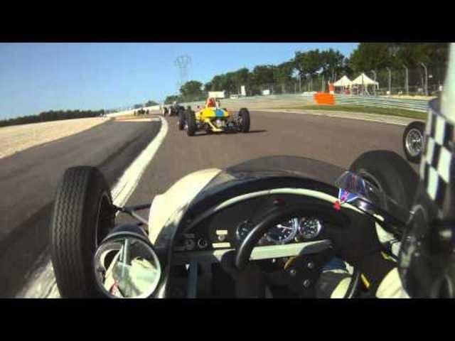 FIA Lurani Trophy: Rennen in Dijon  2014