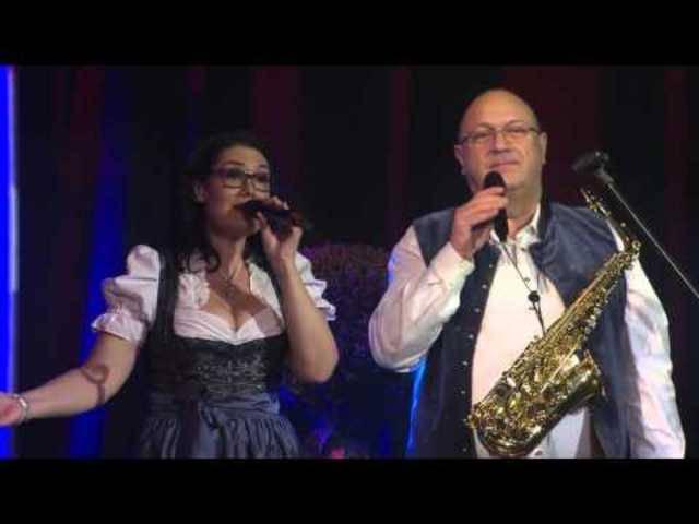 Cordula und Mario bei Musikantenwelt