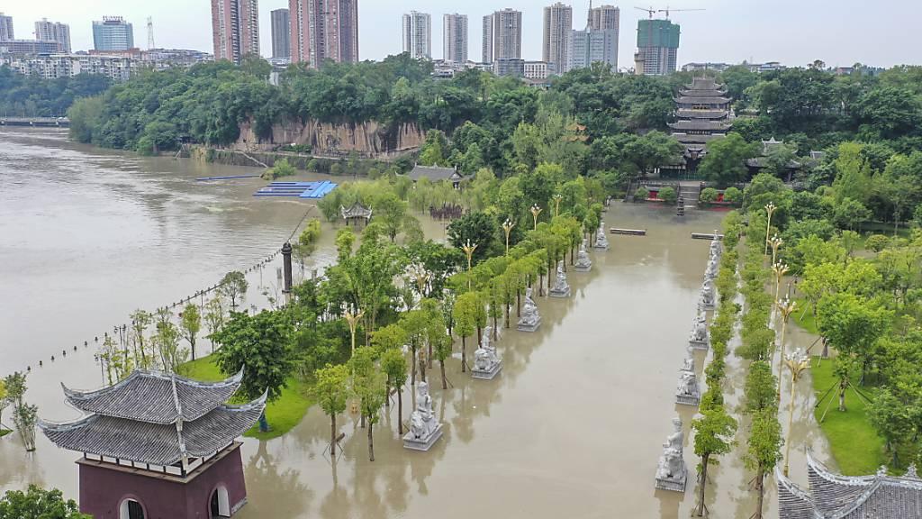 Überschwemmungen in China - mehr als 200 Tote in diesem Sommer