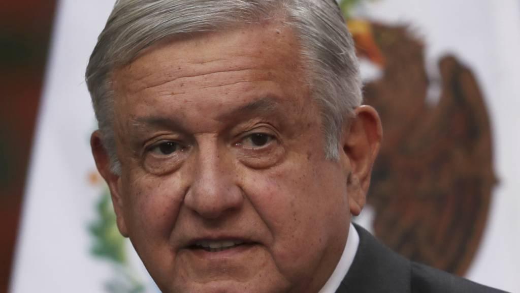 Mexikos Präsident an Corona erkrankt