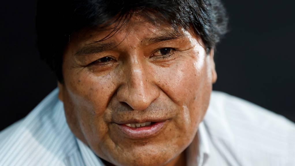 Ihm droht in seinem Heimatland die Verhaftung: der aus Bolivien geflüchtete frühere Staatschef Evo Morales. (Archivbild)