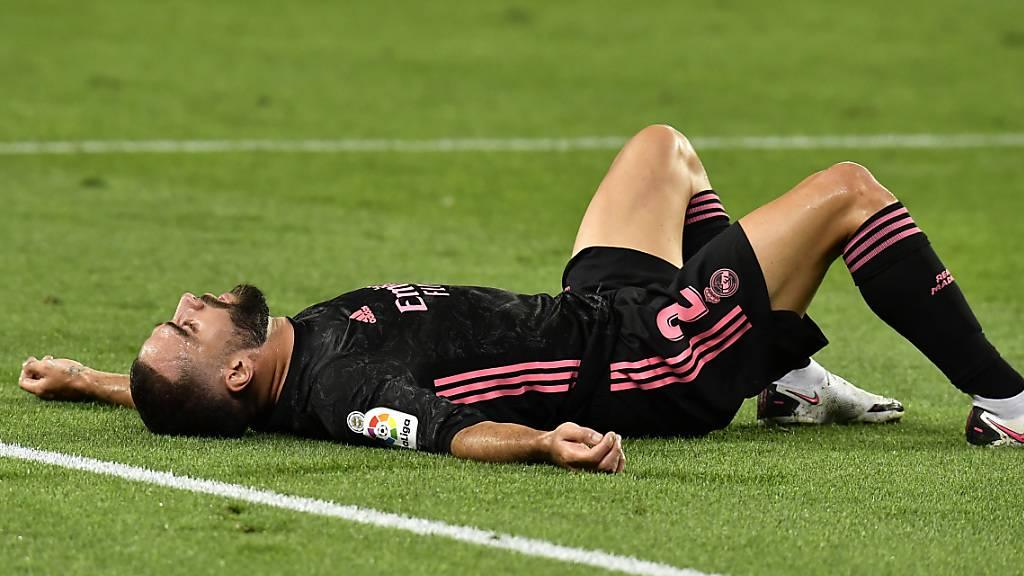 Dani Carvajal und Real Madrid gelang kein Start nach Mass in die Meisterschaft