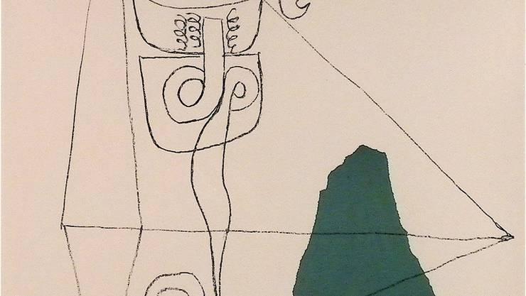 «Le Taureau» heisst diese Serigrafie von Le Corbusier aus dem Jahr 1964.