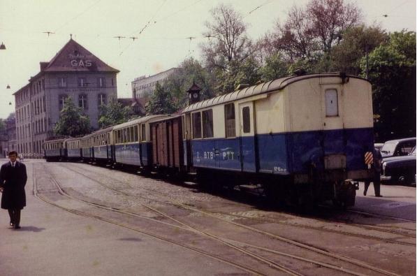 Historische Bilder der Birsigthalbahn