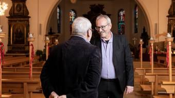 John Steggerda, Präsident der katholischen Kirchgemeinde Trimbach, hat von Paul* erstmals von den Übergriffen durch einen früheren Pfarrer erfahren.