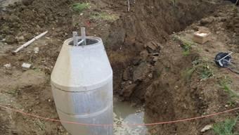 Bauarbeiter schwer verletzt nach Unfall in Grube in Seengen