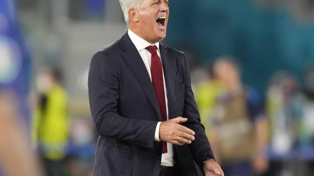 Vladimir Petkovic war vor dem letzten EM-Gruppenspiel gegen die Türkei besonders gefordert
